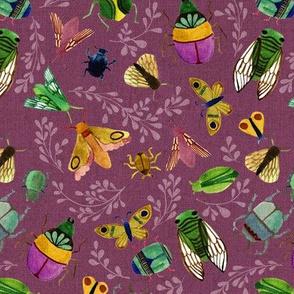 Beautiful Bugs {Amethyst} - medium