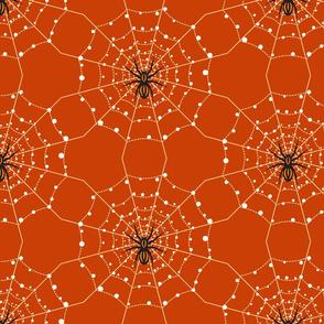 Halloween spiders' webs