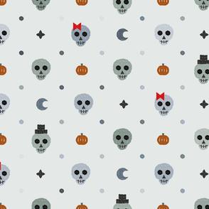 Elegant skulls