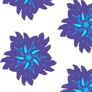 Dancing Denim Funky Flower