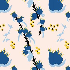 FLOWER CORSICA PATTERN