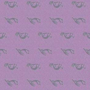 Purple Kokopelli