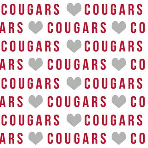 cougars team fabric - texas fabric, uh fabric