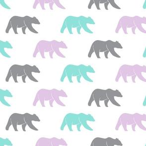 bears - multi - teal purple grey - LAD19BS
