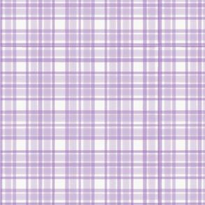 Demure Lilac Tartan