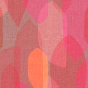 Mid Century Colour Blocks {Rouge}