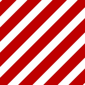 Red and White Striped Fabric - YSRdesign
