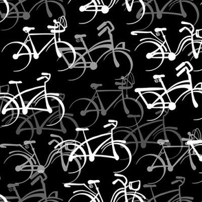 Bicycles   Solid Black   Standard Size
