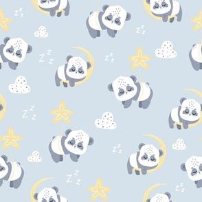 sleepy pandas