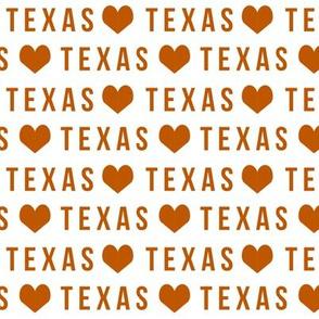 texas love fabric - texas college fabric, ut fabric