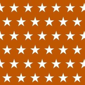 texas star fabric - lonestar fabric, burnt orange star - texas star fabric - burnt orange