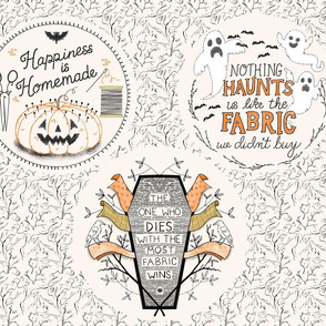 Halloween Embroidery Project