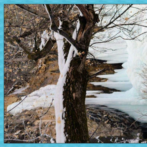 Winter Ice Falls