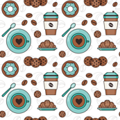 Coffee pattern_4