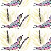 bird in reeds