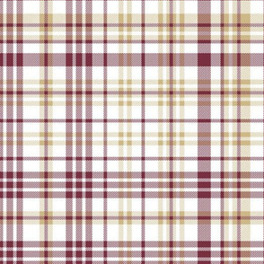 seminole plaid - seminoles plaid, fsu, florida state fabric