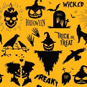 haunted wicked Halloween
