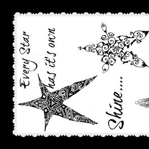 Star Shine towel