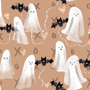 Sweet Ghosts and Bats - on Rose xoxo