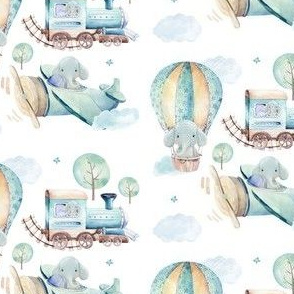 """4"""" Going Places Elephant"""