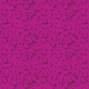 ABSTRACT FOREST IN DARK PINK