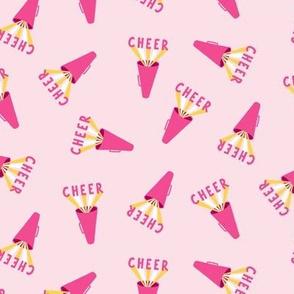 Shout Cheerleading Megaphones - Pink