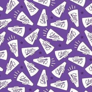 Cheerleading Megaphones Purple