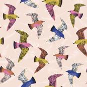 Swooping Birds - Autumn