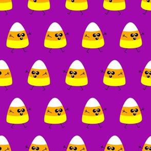 Baby Candy Corn (purple)
