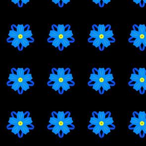Cornflower By Night Funky Flower