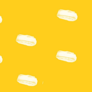 Yellow Fellow Painterly Spots horizon