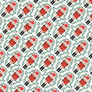 nutcracker // small christmas fabric xmas holiday nutcrackers nutcracker ballet xmas holiday fabric by andrea lauren