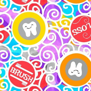 Colorful Dental Toothbrush / Teeth-Tooth