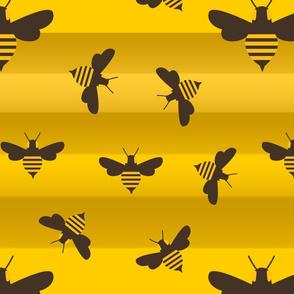 bee strripes