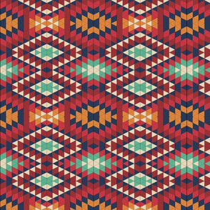 Native American Folk Art Neutral