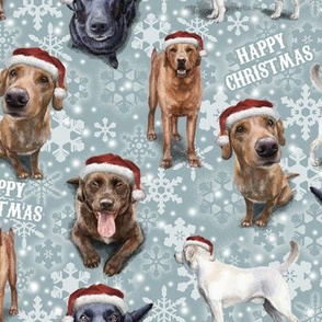 The Christmas Labrador Retriever