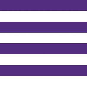 "lsu stripe  - 1"" purple stripes, one inch stripes, lsu fabric"