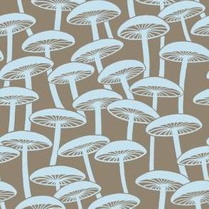 Mushrooms - Hollow Cloud on Brown