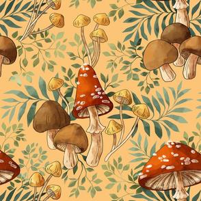 Mushrooms and Palms