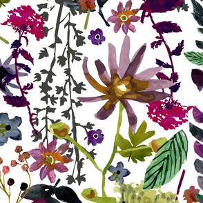 Jewel Tones Floral - Jumbo