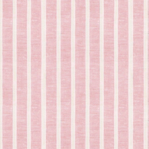 Pink Linen Towel Vertical
