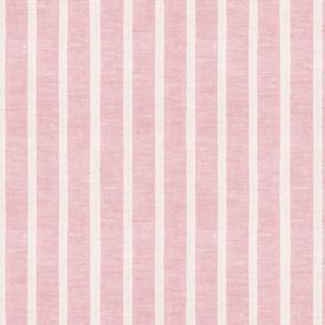 Pink Linen Towel Vertical