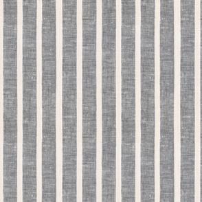 Gray Linen Towel Vertical