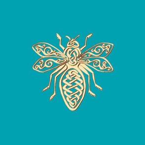 Celtic Bee Swatch