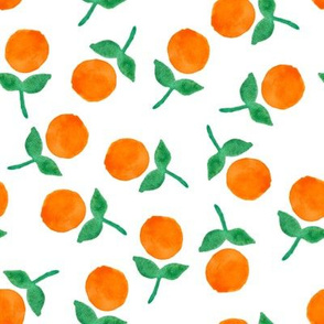 Orange Dot Blooms