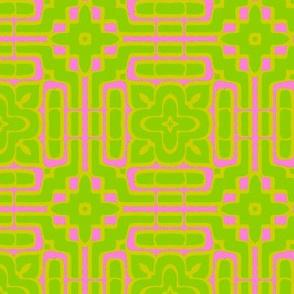 Simple Tile//Acid Pink Lemonade