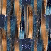 Nightime Copper & Indigo