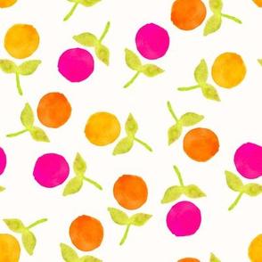 Orange Dot Evelyn