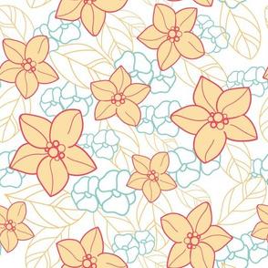 orange blossom garden