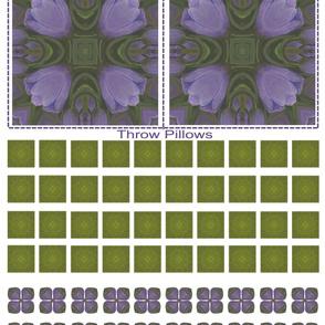 Clip N Sew Dutch Tulips 9-4c